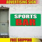 SPORTS BAR Banner Advertising Vinyl Sign Flag restaurant food men beer BILLIARDS $199.92 USD on eBay