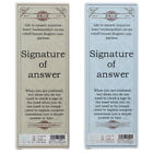 36Pcs/pack Answer Paper Bookmark for Books Clips Book Markers Office Supplies