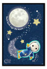 Moon and Me Hush Hush Says The Moon Poster MAGNETIC NOTICE BOARD Inc Magnets