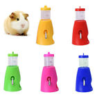 Pet Hamster Mice Water Bottle Holder Dispenser Base Hut Nest Feeder Hideout Nov