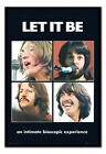 The Beatles Let It Be Poster FRAMED CORK PIN BOARD With Pins | UK Seller