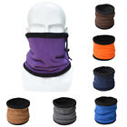 Unisex Double Layers Scarf Neck Warmer Gaiter Hat for Outdoor Hiking US Stock