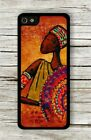 AFRICAN WARRIOR CASE FOR iPHONE 4 , 5 , 5c , 6 -lop0X
