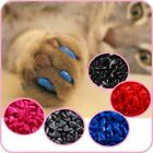Cat Nail Caps Paws Silicone Soft Claw Pet Nail Protector Cover Glue Applictor image