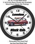 1968 London Black Cab Wall Clock, Triumph, BMW, Checker $28.99 USD on eBay