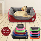 Super Large Dog Bed Pet Cushion Bed House Soft Warm Kennel Blanket Nest Washable