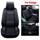 Universal Leather Car Seat Covers Cushion Fit for Dodge Charger Durango Journey $556.39 CAD on eBay