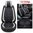 Leather Car Seat Covers Universal Cushion Fit for Dodge Charger Durango Journey $512.55 CAD on eBay
