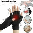 Pair Arthritis Gloves Sports Health Half Finger Recovery Therapeutic Compression $8.98 USD on eBay