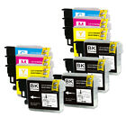 Ink Cartridge ComboPack for Brother LC61 MFC-J410w MFC-J415w MFC-J615W MFC-J270W