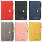 Fashion Mini Wallets Clutch PU Leather Slim Purse Card Holder For Girls Women US image