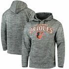 Baltimore Orioles Stitches Digital Fleece Pullover Hoodie - Heathered Black on Ebay