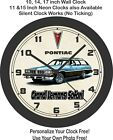 1976 Pontiac Grand LeMans Safari Wagon Wall Clock-Chevrolet, Oldsmobile