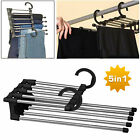 Pants Rack Shelves Stainless Steel Multi-functional Wardrobe Magic Hanger