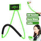 Universal Lazy Hanging Neck Phone Stand Mount Waist Bracket Holder For iPhone X