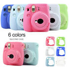Silicone Solid Camera Case Protective Cover for Polaroid Instax Mini 8 9 Novelty