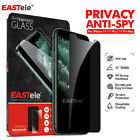 Iphone 12 11 Pro Xs Max Xr Eastele Privacy Tempered Screen Protector For Apple