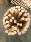 """*PREMIUM* 1.5""""x1.5"""" Curly HARD Maple Wood Turning Square POOL CUE Blanks NON-S4S"""