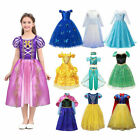 Kids Hot Sale Princess Dress Up for Girls Elsa Snow White Anna Cosplay Clothing