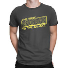 Mens T-Shirt The Best GRANDAD In The Galaxy Gift For Grandfather Star Wars Gramp