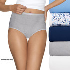 Hanes Platinum Cotton Ceations Cool Comfort Brief 5 Pack - Various Colors