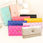 Womens Large Capacity Purse Phone Card Holder Clutch Pocket Wallet Long