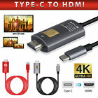 USB Type C to HDMI HDTV TV Cable Adapter Converter for Macbook Android Phone