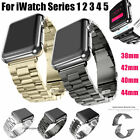 For Apple Watch Series 5/4/3/2/1 Stainless Steel Wrist iWatch Band Strap 38/42mm image