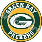 Green Bay Packers Circle Logo Sticker / Vinyl Decal 10 sizes!! $6.0 USD on eBay