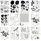 Flower Leaf Clear Stamps Transparent Silicone Rubber Embossing Scrapbook Ablum