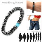 Bio Magnetic Hematite Bracelet Bangle Beads Opal Pain Relief Therapy Reiki Power