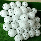 Airflow Hollow Perforated Plastic Golf Balls Practice Training Ball CA