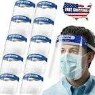 Safety Full Face Shield Reusable Washable Protection Cover Face Anti-Splash 6PCS