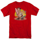 Betty Boop Surf T Shirt Mens Licensed Cartoon Merchandise Beach Hawaiian Red $19.99 USD on eBay