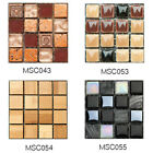 Kitchen Tile Stickers Bathroom Mosaic Sticker Self-adhesive Home Wall Decor Uk