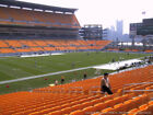 4 TICKETS CLEVELAND BROWNS @ PITTSBURGH STEELERS 10/18 *Sec 130 Row H*