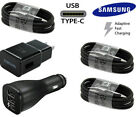 Original OEM SAMSUNG Galaxy S8 S9 S10 Note10 Fast Wall Car Charger Type-C Cable