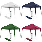 Pop up gazebo for garden party camping festivals beer tent 3x3m folding...
