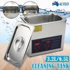 Digital Ultrasonic Cleaning Tank Ultra Sonic Bath Cleaner Timer Heated Jewellery
