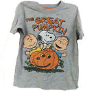 Peanuts The Great Pumpkin Child's Halloween Party Shirt ShortSleeves 3y 4y 5 yrs