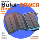 3000000mAh Waterproof USB Portable Charger Solar Power Bank For Phone-Tablet