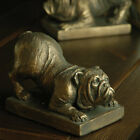 Resin Bulldog Bookends
