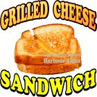 Grilled Cheese Sandwich DECAL (Choose Your Size) Concession Food Truck Sticker