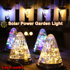 Solar Powered Lantern LED Lights Hanging Garden Lamp Outdoor Waterproof Lighting