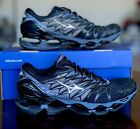 Mizuno Wave Prophecy 7 Men's Shoe- Black/Silver (size 9 & 9.5)- 100% Authentic