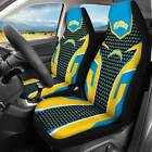 Set of Two Los Angeles Chargers Car/Pickup truck Seat Cover Universal Protector $47.49 USD on eBay