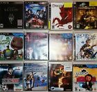 SONY PLAYSTATION 3 GAMES LOT - PS3 GAMES- Dragon Age, Skyrim +