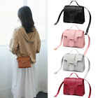 Candy Color Casual Shoulder Bag Pu Leather Small Square Pack Wallet Handbag