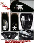 Motorcycle decals stickers vinyl graphics set Betsy Ross American flag