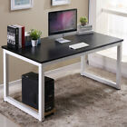 Home Wood Computer Desk PC Laptop Table Study Workstation Office Furniture US